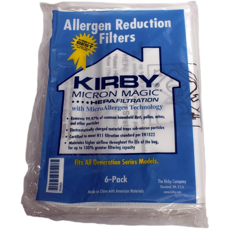 Kirby G6 Ultimate G Sentria Filtrete 3m Allergen Reduction Vacuum Bags Genuine 24 4 Free Belts