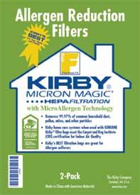 Kirby Hepa Vacuum Bags