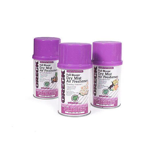Oreck Full Bloom Dry Mist Air Freshener Variety Pack 3x