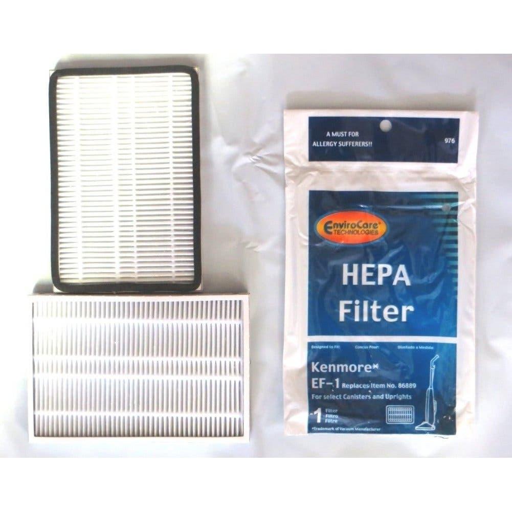 2 Kenmore Hepa Filter 86889