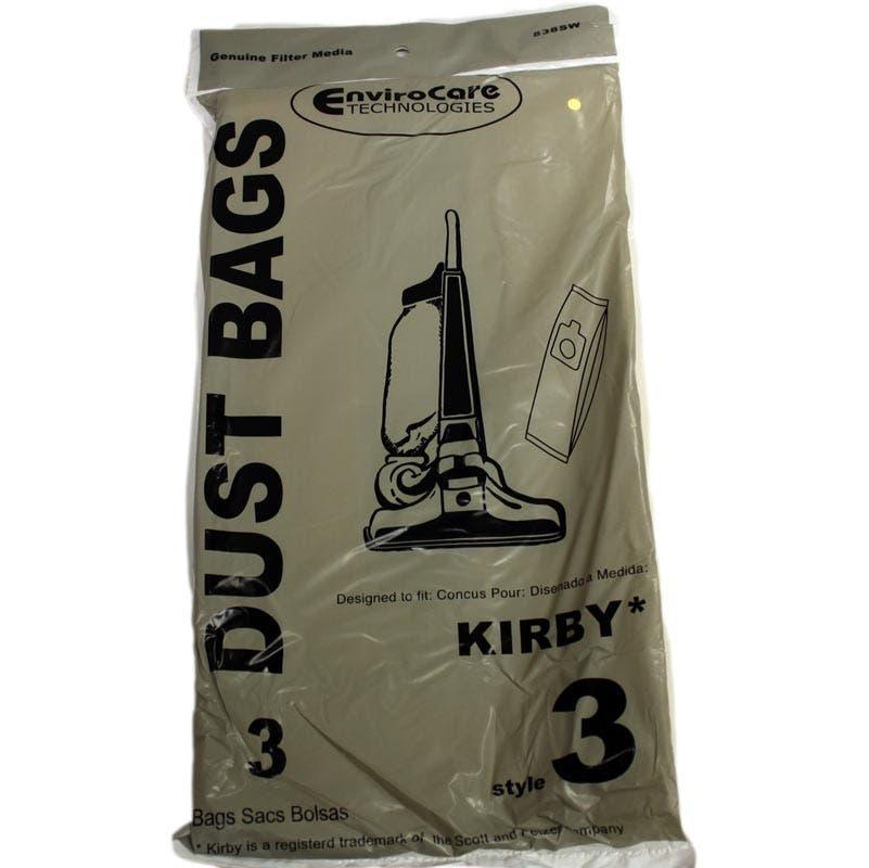 Kirby Style 3 Heritage Ii Vacuum Bags 3 Pack