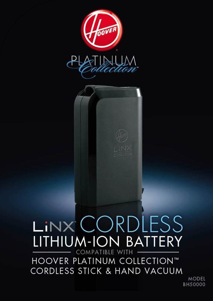 Genuine Hoover Lithium Battery Pack For Linx Platinum