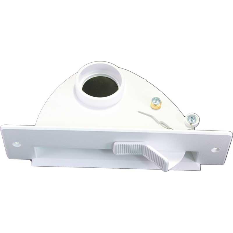 Plastiflex Vac Pan White For Built In Central Vacuum