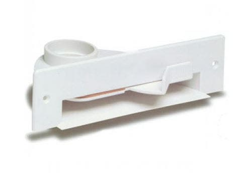 Central Vacuum Vac Pan Toe Kick White