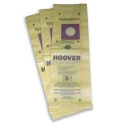 Hoover Upright Vac Type B Allergen Filtration Bags 3 Pk Genuine Part # 4010103B