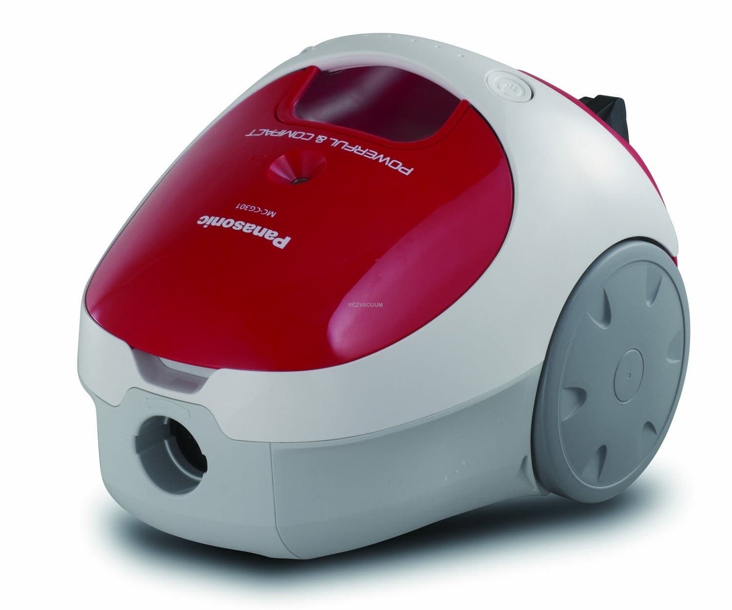 Panasonic Mc Cg301 Bag Suction Canister Vacuum Cleaner Red