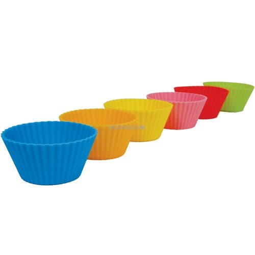 Casabella Muffin Cups Standard Silicone Set Of 6