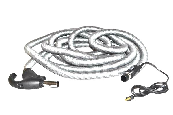 Centec 35ft Complete Hose Quiet Drive Delux Kit W/Pigtail for Central Vacuum Systems  99407