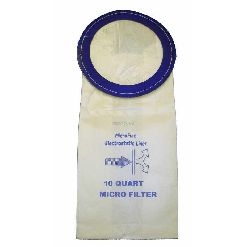Sandia Raven XP3 Replacement 10 Quart  Vacuum Bags - 10 Pack - Generic