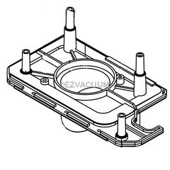 Proteam Proforce 1500 Bag Cover Nozzle Plate - 104239