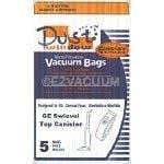 GE C Series Swivel Top Canister Vacuum Bags - 5 Pack - Generic