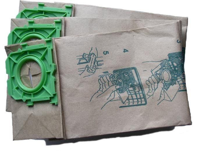 Allstar 12 series Upright Javelin Vacuum Bags - (10 x 10 Pack) 100 bags