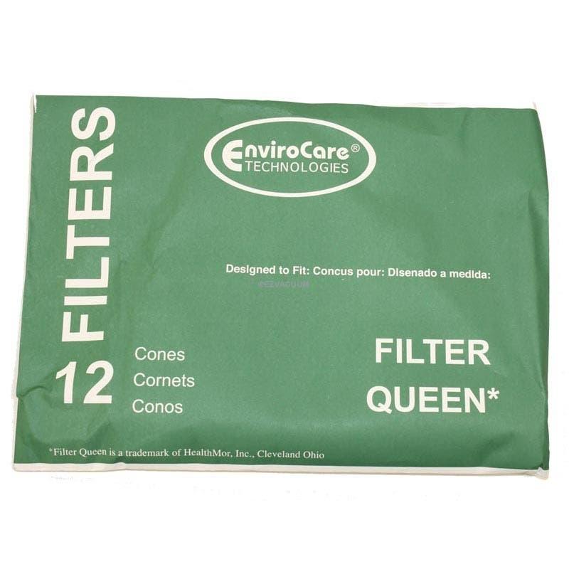 Filter Queen Filter Cones - 12 Packs - Generic