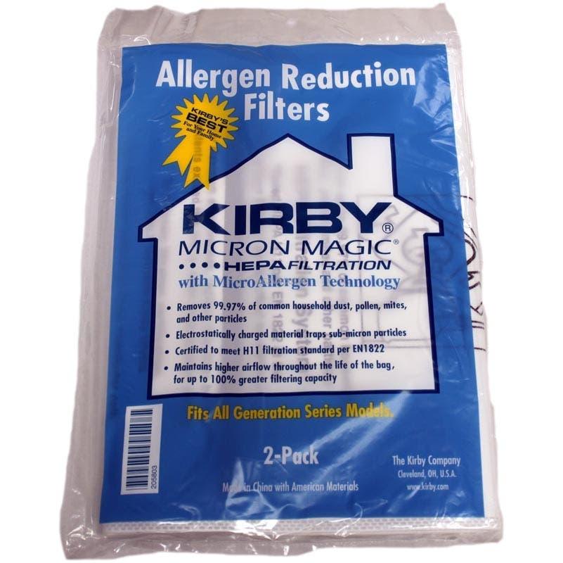 Kirby Sentria Vacuum Bags 205803 Genuine 2 Pack