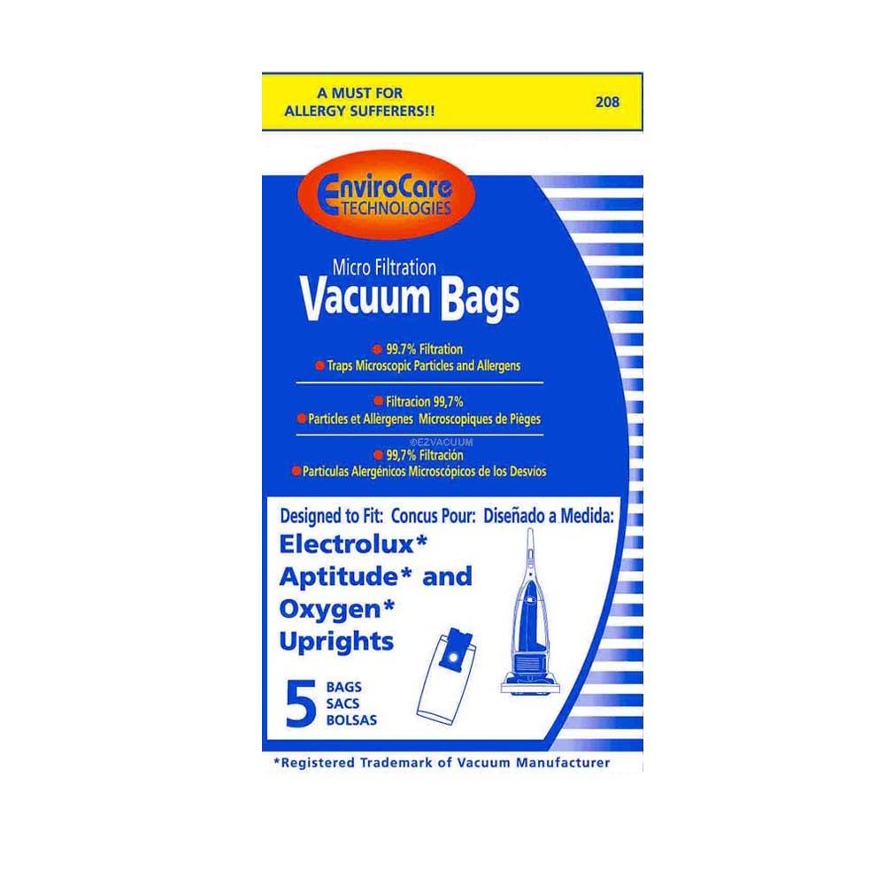 Electrolux Aptitude Vacuum Bags - 5 Bags - Generic