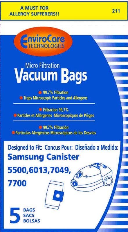 Bissell Digipro Vacuum Bags w/Dust Seal  Closure - Genuine - 5 Pack - 32115