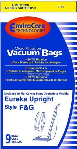 Eureka F&G Micro Lined Bags Super Saver 36 Pack