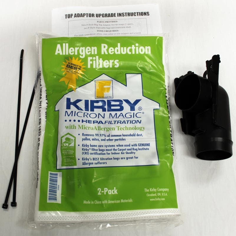 Kirby Style F Conversion Kit for pre 2009 Models, Works on G Series  pre 2009 Sentria