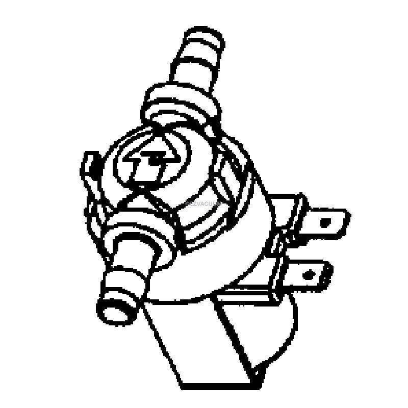Hoover SteamVac Solution Valve Pressure