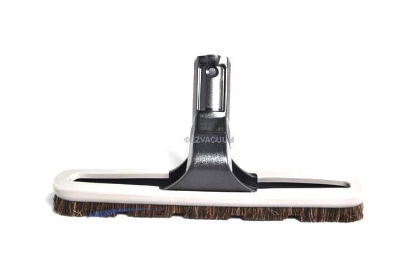 """Fit All 1 1/4"""" Black Floor Brush With Hole In Neck"""