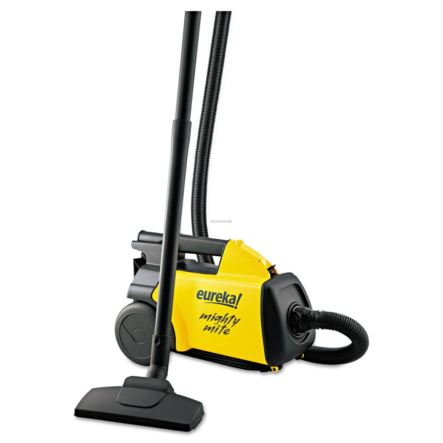 Eureka Lightweight Mighty Mite Canister Vacuum, 9A Motor, 8.2 lb, Yellow 3670G
