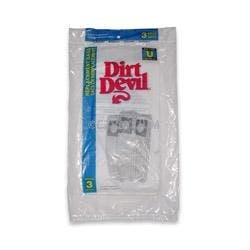 Dirt Devil Type U Vacuum Bags  3920047001 - Genuine - 3 Pack