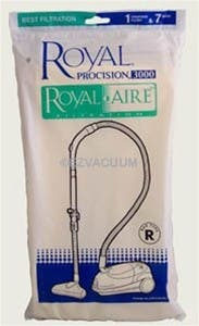 Royal / Dirt Devil Type R Royal-Aire Vacuum Bags  3-RY3100-001 - 7 Bags + 1 Filter Pack