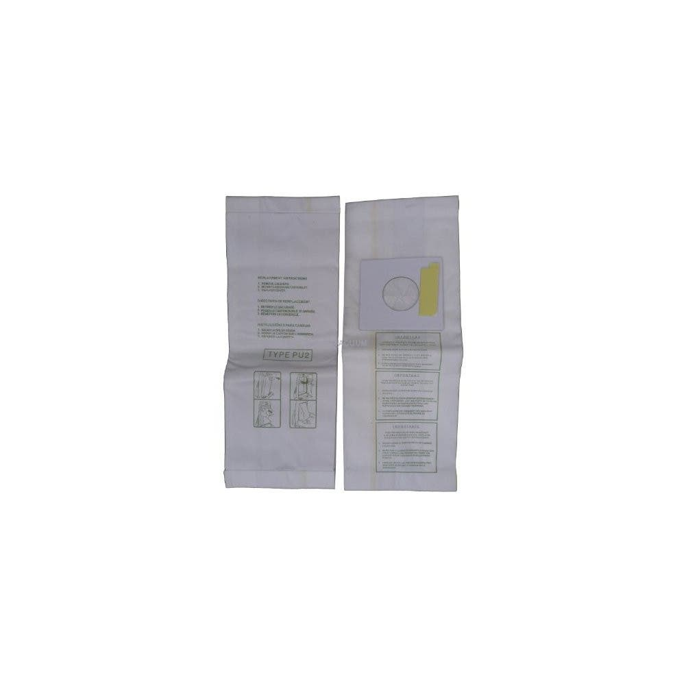36 Sharp Pu 2 Pu2 Allergy Vacuum Bags Upright Cleaners Ec12swc Ect5970 Ect5980 Ectu5907 Ectu5909