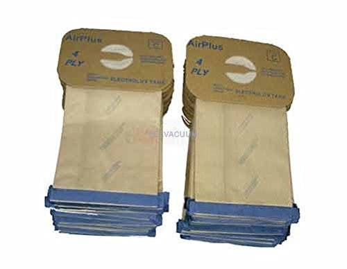 Envirocare Vacuum Bags For Electrolux Canister Style C Generic Bag Of 12