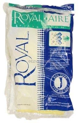 Royal / Dirt Devil Type J Royal-Aire Micro-Filtration Vacuum Bags   3-467130-001 - 3 bags + 1 Filter - Genuine