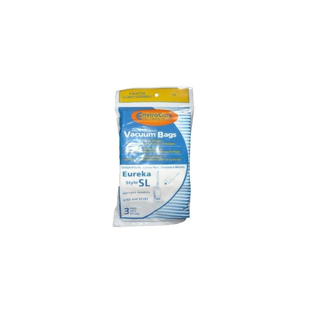 Envirocare Technologies Eureka Style Sl Vacuum Cleaner Bags Microfiltration 3 Pk.