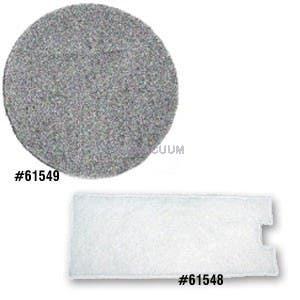 Eureka Model 970 Micro Vacuum Cleaner Filter Set - 61548  61549