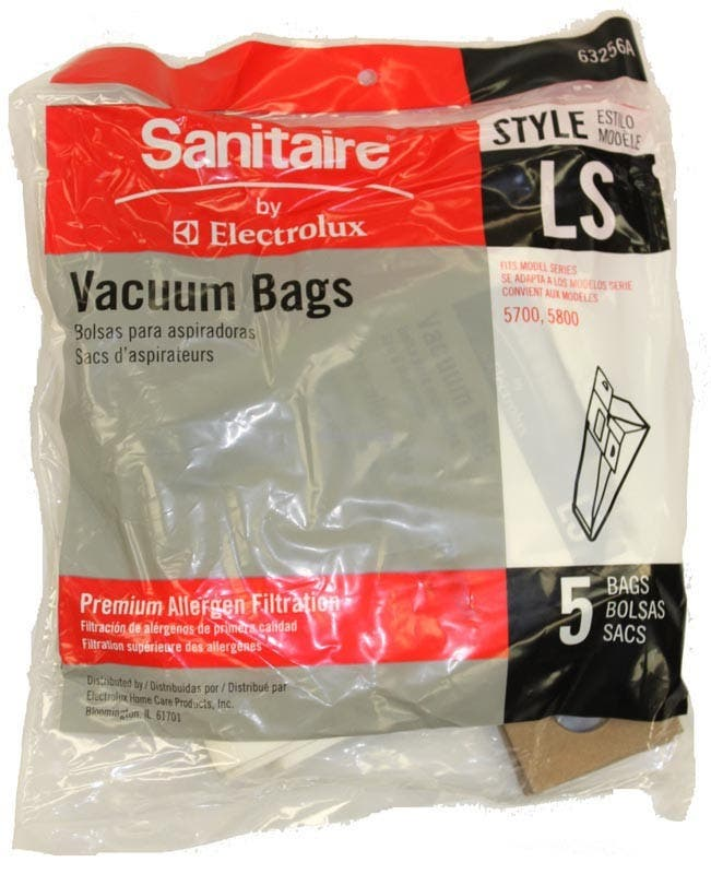 Sanitaire 63256-10 Style LS Arm Hammer Vacuum Cleaner Bags - 5 Pack