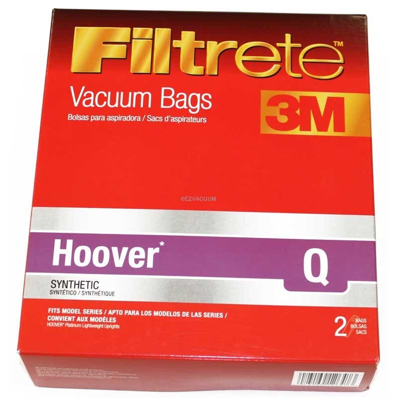 8 Hoover Type Q Ah10000 Hepa Like Filtration Vacuum Bags For Platinum Model Uh30010com