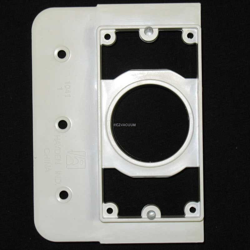 """Central Vac 2"""" X 4"""" Construction Mounting Plate - 765568W"""