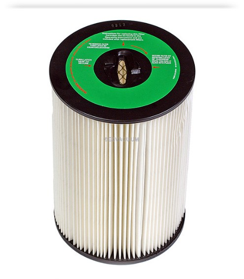 Dirt Devil/Titan 10 Inch Cartridge Filter for Vacuflo Model FC1550  8107-01