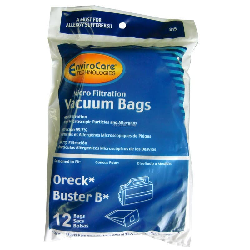 allergry vacuum cleaner bag Canister 36 bags fit oreck Buster B PKBB12DW