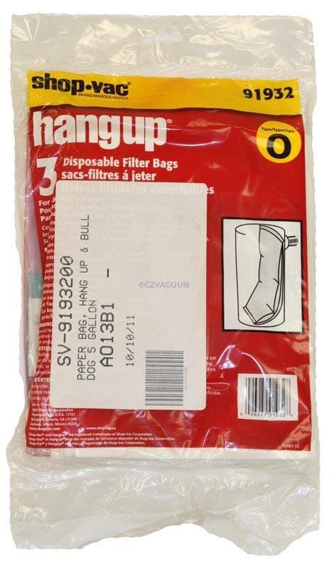 Vac Type O 5 Gallon Hang Up
