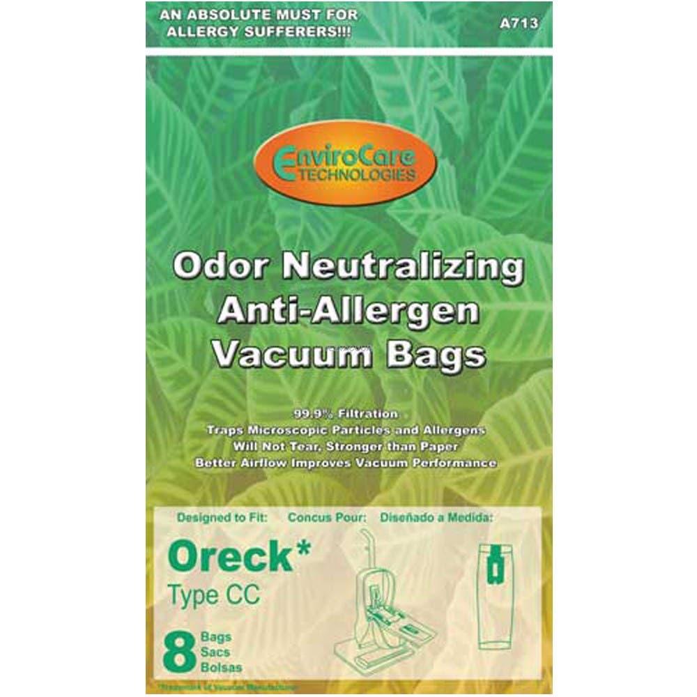 Oreck XL Platinum Hepa Type CC Sweeper Bags