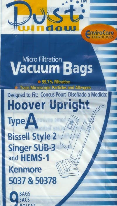 Bissell Style 2 Vacuum Cleaner Bags 32018 - Generic - 9 pack