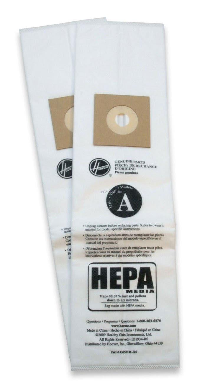 Paper Bags Hoover A 2pk Hepa