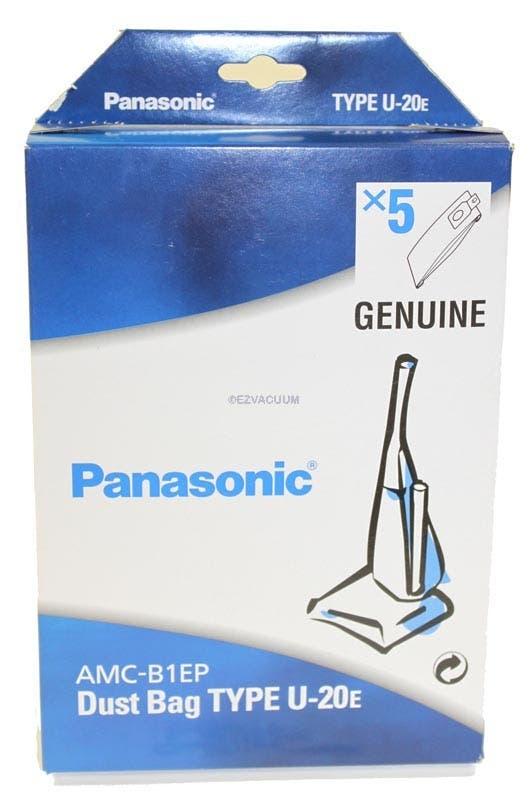 Panasonic U20E OR U2 Vacuum Bags - 5 pack