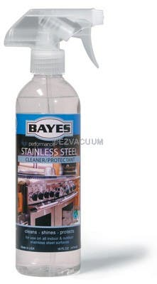 Bayes Stainless Steel Cleaner  Protectant  B-125 - 16oz Spray Bottle