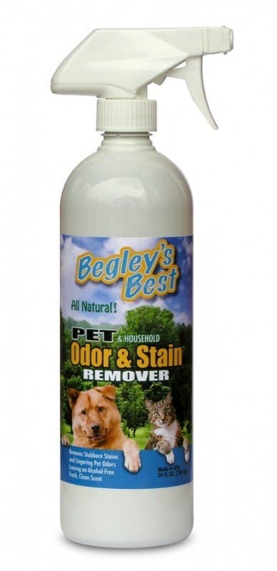 Begley's Best Pet and Household Odor  Stain Remover