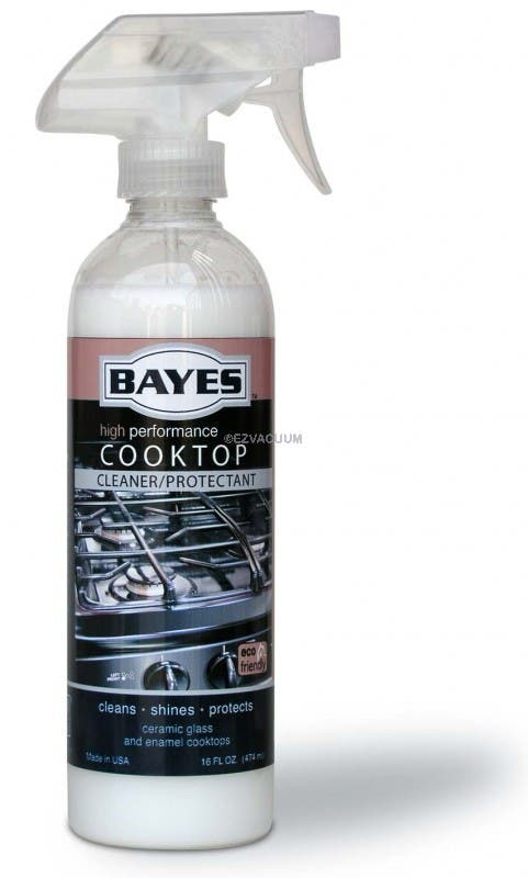 Bayes CookTop Stove Cleaner Protectant  - 16 oz Spray Bottle