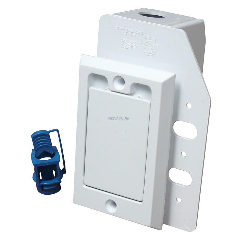 791760W SUPERVALVE, 110V SMALL INSET DOOR WHITE SAME AS NUTONE CI358W