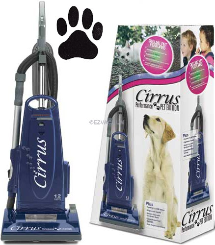 Cirrus CR99 Performance Pet Edition Upright Vacuum Cleaner - 0 Shipping