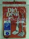 Dirt Devil 3400615001 Style 7 Belt - 2 pack