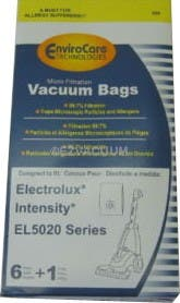 Electrolux Intensity EL206 MicroFiltration Vacuum Cleaner Bags - 6 bags + 1 filter - Generic