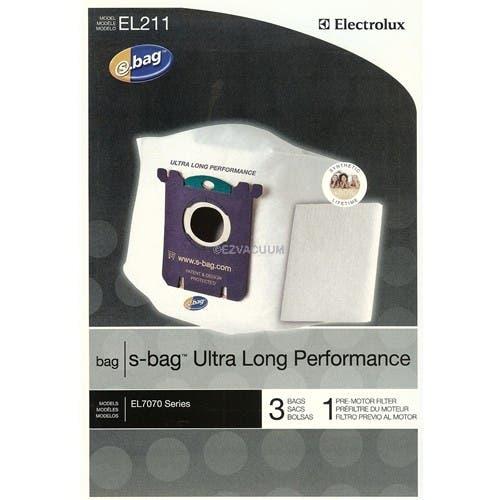 Electrolux  s-bag Ultra Long Performance EL211 Vacuum Bags - 3 bags